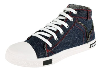 Steal Deal : Maddy Top Quality Blue High Neck Casual Shoes In Just Rs.195 discount deal