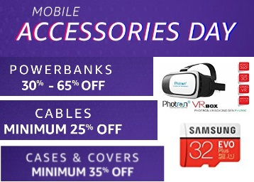 Mobile Accessories Day- Up to 80% off on All Mobile Accessories + Free Shipping low price