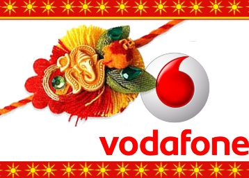 Vodafone – Visit Store and Get free Rakhi + More surprises for everyone discount deal