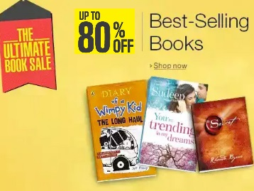 Top Selling Books : Get Upto 80% Off starting From Rs.14 + Free Shipping low price