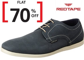 Steal Deal : Red Tape Leather Boat Shoe at FLAT 70% OFF + Free Shipping discount deal
