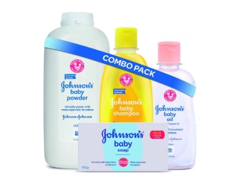 {69% Claimed} Johnson's Baby Bathing Combo at Rs. 360 + Free Shipping discount deal