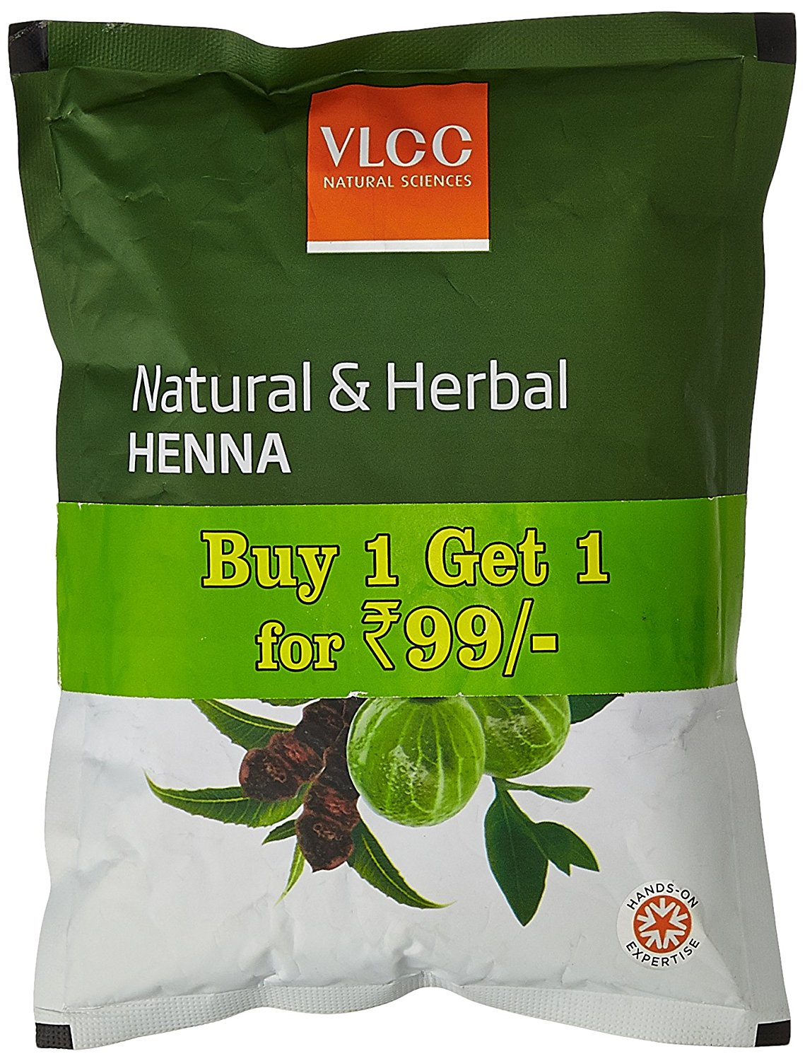 Pantry Item:-VLCC Heena Offer at Just Rs. 64 (Pack of 2) + + Free Shipping discount deal