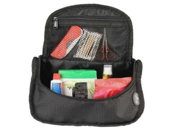 Get Viaggi Black Toiletry Bag at just Rs.112 + FREE shipping low price