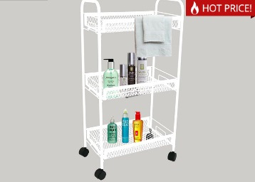 Get Deneb Multipurpose Trolley with Three Racks at just Rs.522 + FREE Shipping low price