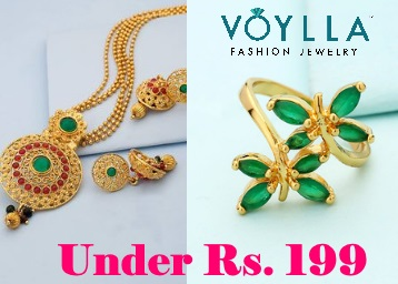 Voylla Rakhi Gifting : Stunning Jewellery From Just Rs. 149 + FREE Shipping On Prepaid low price