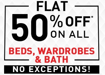 Mano Ya Na Mano Sale : Flat 50% Off On Beds, Sofas & More + FREE Shipping low price