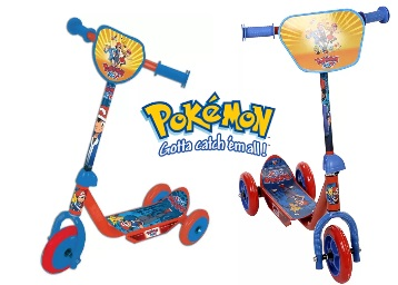 Steal Deal : Pokemon Three Wheel Scooter At Just Rs.594 + FREE Shipping low price