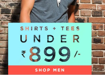 Rakhi Bash:- Everything for Men Under Rs. 899 + Extra Rs. 100 OFF + Free Shipping low price