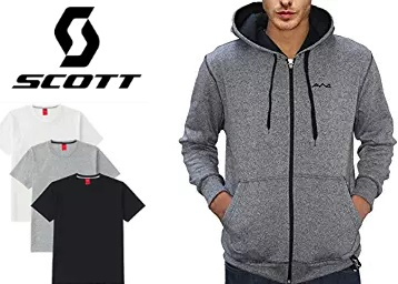 Min 50% – 80% off on T- Shirts & Jackets by Scott International + Free Shipping low price