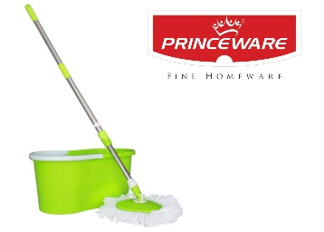 25% Claimed : Princeware 360-Degree Magic Mop (Green) at Rs. 699 + FREE Shipping low price
