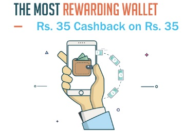 Account Specific:- Get Rs  35 Cashback on Rs  35 Recharge at
