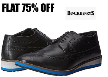 Flat 75% OFF:- Blackberrys Desquare Leather Sneakers at Just Rs. 1123 low price