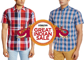 STEAL DEAL : Top Brands Shirts [Arrow, Pepe Jeans] Minimum 80% Off + FREE Shipping low price