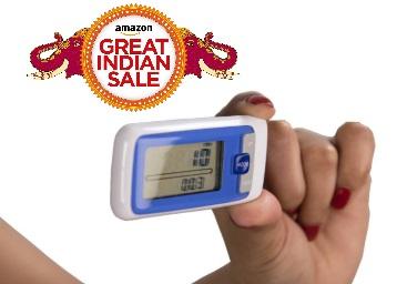 Flat 88% Off : JSB HF18 3D Pedometer at Rs. 299 discount deal