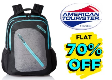 {35% Claimed}:- American Tourister 24 Ltrs Casper Backpack at FLAT 70% OFF low price