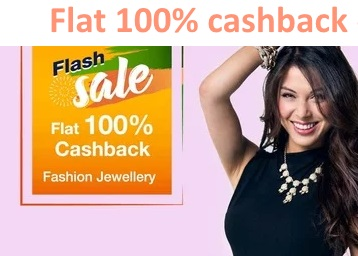 LIVE NOW : Get 100% Cashback on Jewellery Sale (Sukkhi) discount deal