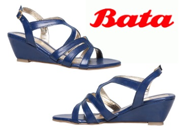 STEAL : Bata Blue Sandals For Women at Just Rs. 499 + FREE Shipping low price