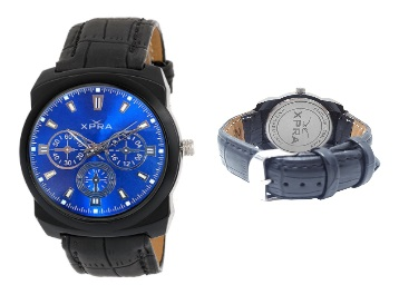 Lightning Deal : XPRA Analog Blue Color Dial Men's Watch at Just Rs. 224 + FREE Shipping low price