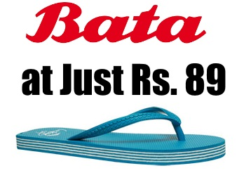 2 Sizes Left:- BATA BLUE CHAPPALS FOR WOMEN at Just Rs. 89 + Free Shipping low price