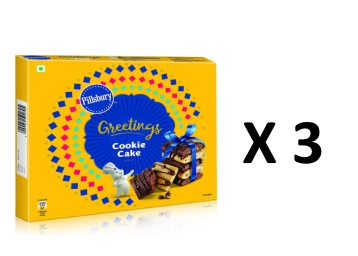 Lightning Deal : Pillsbury Cookie Cake, Chocolate, 276g at Just Rs. 109 + FREE Shipping low price