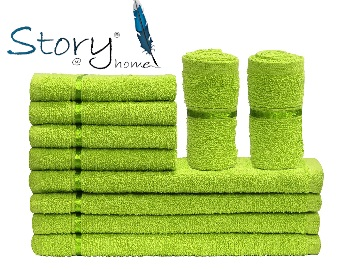 {Limited Stock} Story@Home Cotton Face Towel Set – 10 at Just Rs.249 + Free Shipping low price