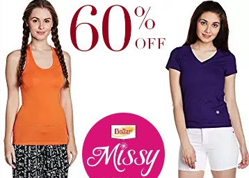 Steal Deal:- Dollar Missy Women Inner wear at FLAT 60% Off + Free Shipping low price