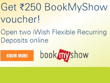 Steal Offer : Get Rs.250 BookMyShow Voucher for Free discount deal