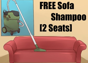 Get FREE Sofa Shampoo [2 Seats] [Available in Delhi] Unbelievable but true! low price
