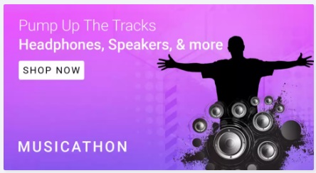 Flipkart Musicathon Sale – Get Up to 80% Off JBL, Sony Headphones, Speakers & More low price