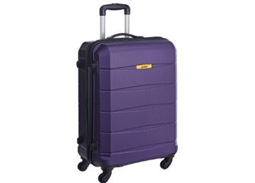 Steal [5* Rating]:- Safari 65 cms Purple Hard-sided Suitcase at Just Rs. 2681 low price