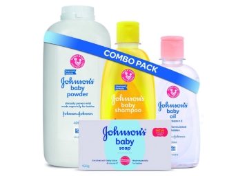 Baby Special Offer : Johnson's Baby Bathing Combo at Just Rs. 372 + FREE Shipping discount deal