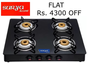 [Flat Rs. 4300 off]:- Surya Accent Glass Manual at Just Rs. 2899 [Flipkart Assured] low price
