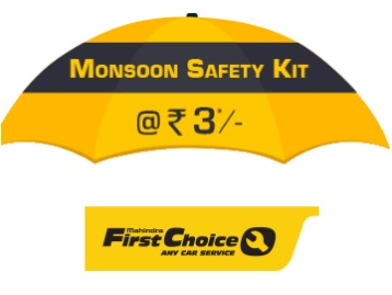 Loot : Get Your Car Check Up at Just Rs.3 – Monsoon Safety Kit by First Choice discount deal