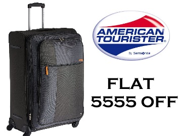 {Flat Rs.5555 Off} American Tourister Hugo Polyester 77 cms + Free Shipping low price