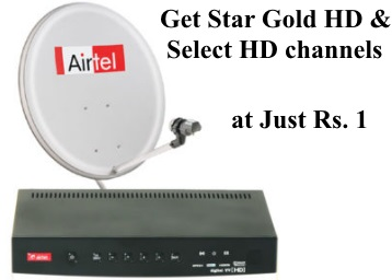 Airteldth Sunday Super Sale - Star Gold HD & Star Gold Select HD at