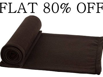 Steal Price : Flat 80% Off Nakoda Creation Single Bed Blanket low price