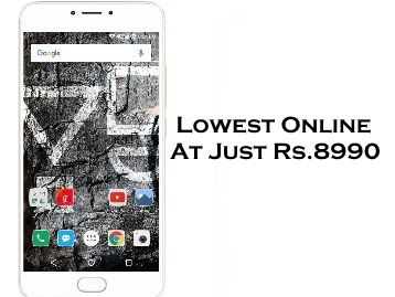 Lowest Online : Yu Yunicorn 32 GB (Gold) 4GB RAM at Just Rs.8990 + Free Shipping low price