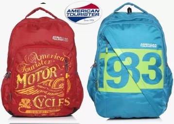 f84ebf0d5ad1 American Tourister Backpacks at Mininum 50% OFF + Extra Rs. 400 OFF ...