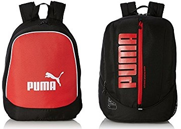 Puma Backpack at Minimum 60% off from Rs. 497 + FREE SHIPPING low price