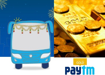 Get Flat Rs. 50 worth of Paytm Gold on your bus ticket booking