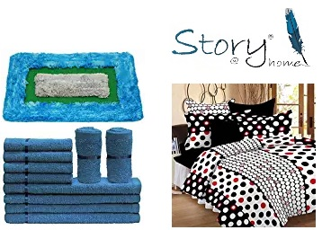 Story@Home Home Furnishing 50% Off Or More from Rs. 132 low price