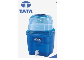 SteaL:- Tata Swach Smart 15L Water Purifier at Just Rs. 999 + Free Shipping discount deal