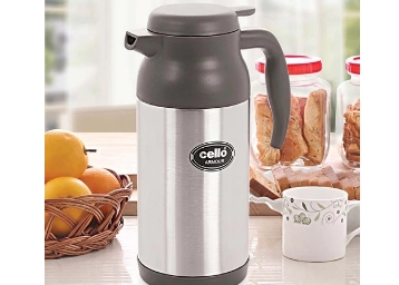 STEAL : Cello Armour Stainless Steel Flask (1200 Ml) Grey at Just Rs. 704 + FREE Shipping low price