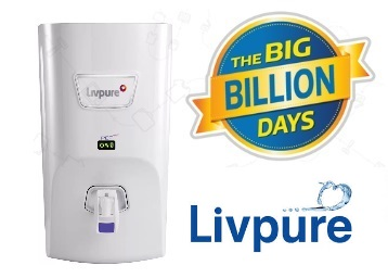 Bumper Offer : Get Livpure 7 L RO + UV +UF Water Purifier at Just Rs. 8099 discount deal