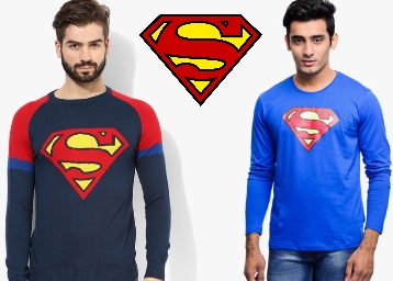 Clothing Superman discount offer