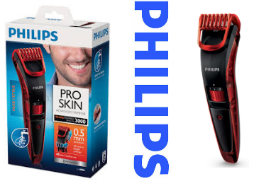 Image result for Philips QT4006/15 Pro Skin Advanced Beard Trimmer (Red)