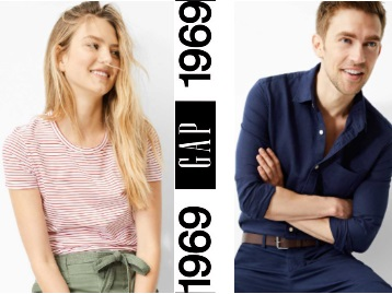Premium Brand : Flat 50% off on GAP Clothing from Just Rs.399 low price