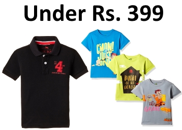 Kid's Brand Sale : Branded Kid's Clothing Under Rs. 399 From Rs. 99