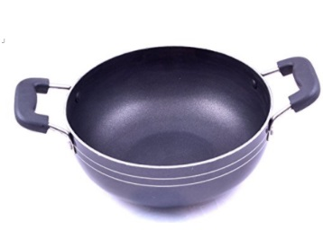 Steal : Tosaa Aluminium Non-Stick Kadhai, 18cm at just Rs. 302 + FREE Shipping